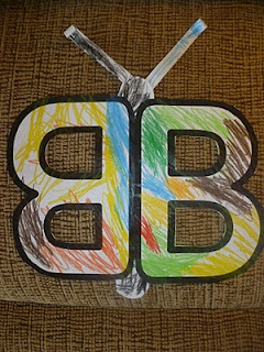 """Letter """"B"""" activities  http://mamato3blessings.blogspot.com/2011/11/letter-of-week-letter-b-b.html"""