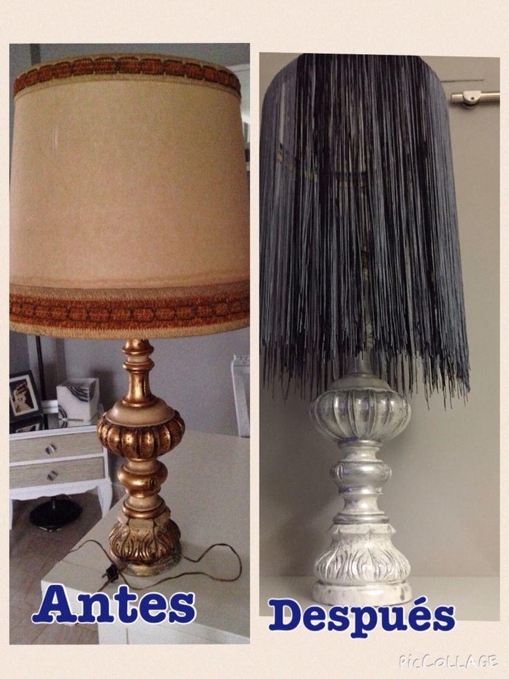 Lámpara restaurada
