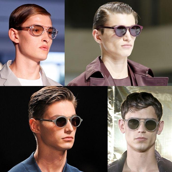 Круглые солнечные очки 2014 мужские