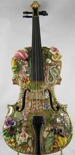 Mosaic by Melissa Miller / http://gemgold.ru/?p=2417#