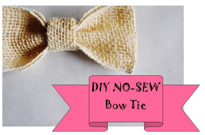 DIY Puppy Dog Bow Tie {No-Sew}