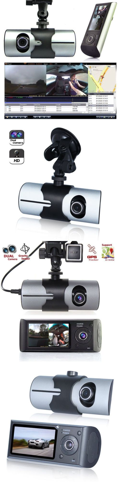 Other Car Video: 2.7 Vehicle 1080P Car Dvr Camera Video Recorder Dash Cam G-Sensor Gps Dual Lens -> BUY IT NOW ONLY: $44.99 on eBay!
