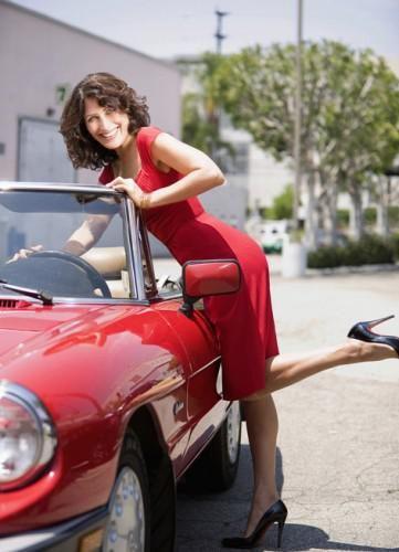 """Lisa Edelstein, actrice américaine .. """"En 2004, elle est choisie pour jouer le rôle du docteur Lisa Cuddy dans la série télévisée Dr House, rôle pour lequel elle reçoit un Satellite Award en 2005 et le prix de la meilleure actrice dans une série dramatique aux People's Choice Awards en 2011."""
