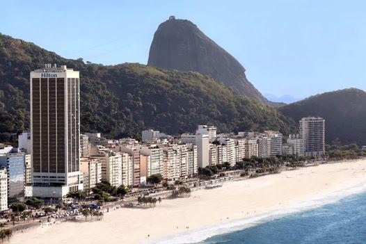 Hilton Rio de Janeiro Copacabana - built in 1975 as the Le Meridien Hotel