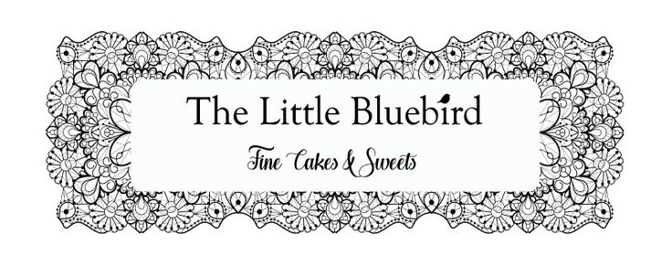 The Little Bluebird Design Options The lace on this logo is completely exquisite and shows up beautifully in black and white. All our logo designs come in both black and white and colour.