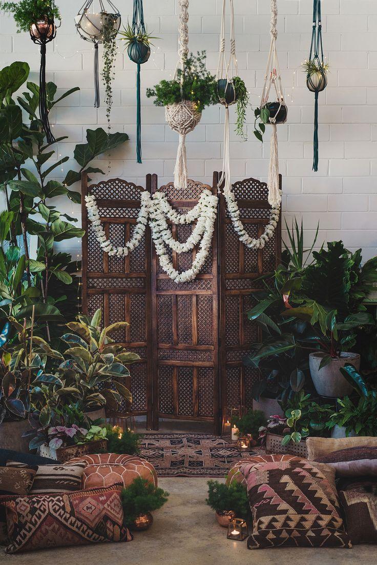 macrame hanging plants