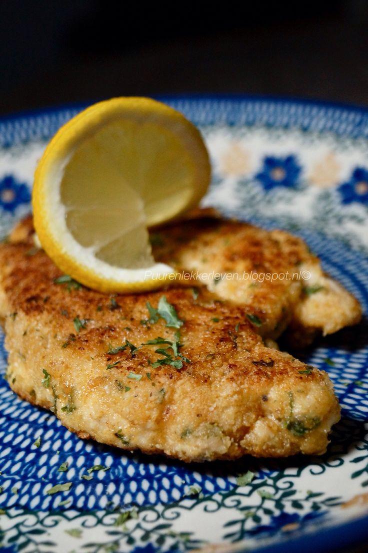 Kip Schnitzel #glutenvrij #lactosevrij #suikervrij #koolhydraatarm