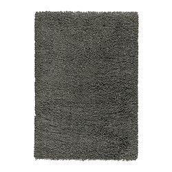 "GÅSER Rug, high pile - 5 ' 7 ""x7 ' 10 "" - IKEA $200 For in front of fireplace"