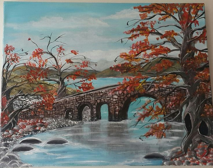 D.Kolt  river Akrylik on canvas 10/03/2016