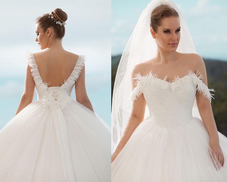 kabarık prenses model gelinlik  2016-nova bella gelinlik nişantaşı istanbul