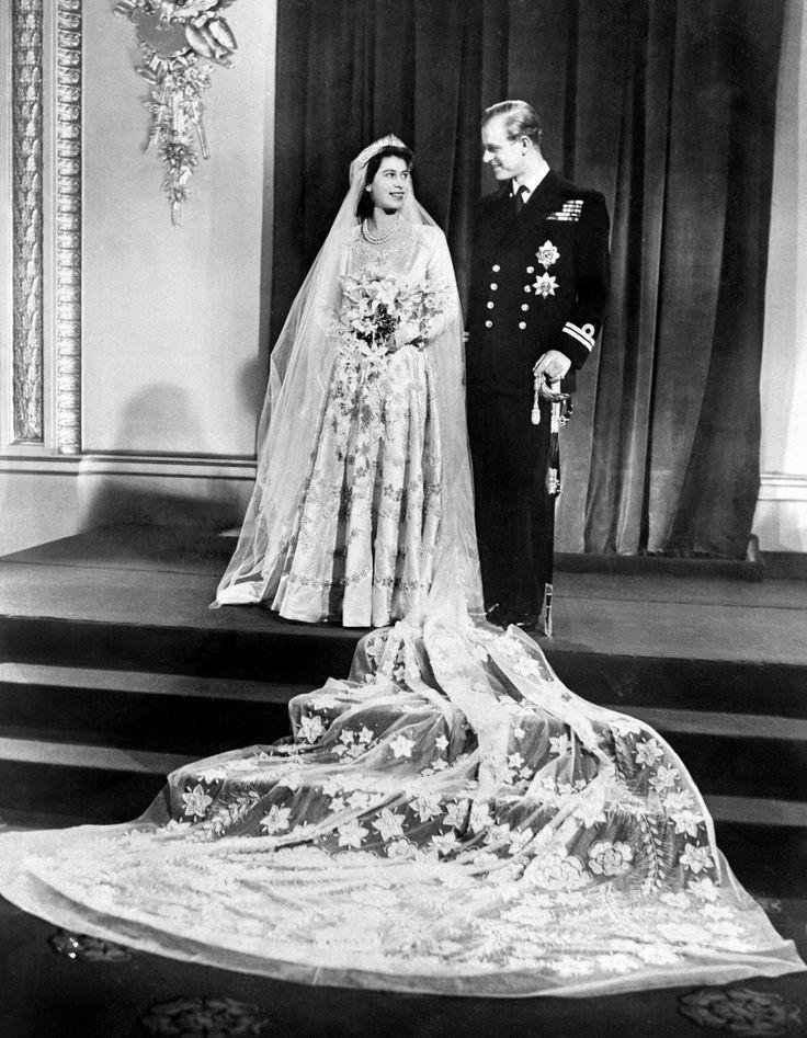 1947: Queen Elizabeth II and Prince Philip
