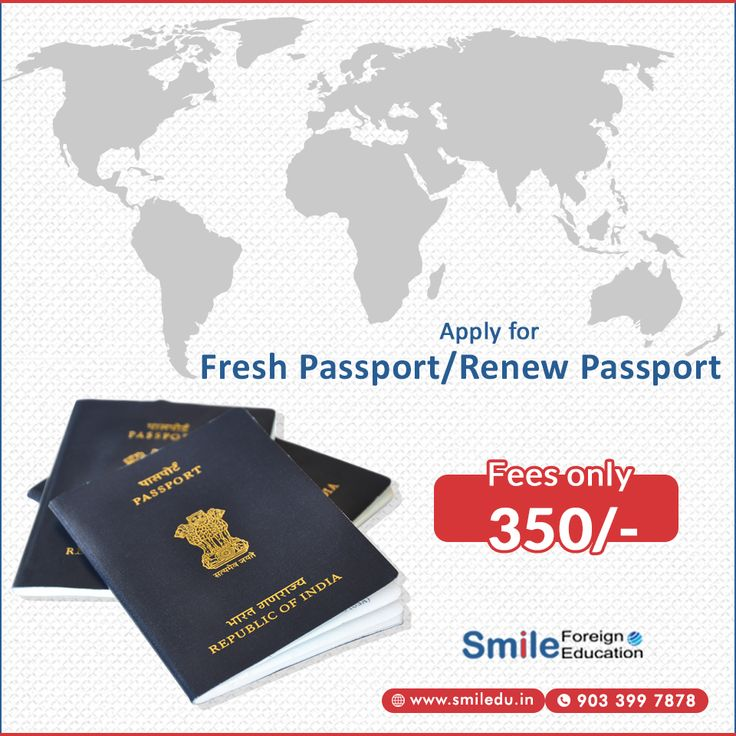 Apply For Fresh Passport/Renew Passport With Smile Foreign