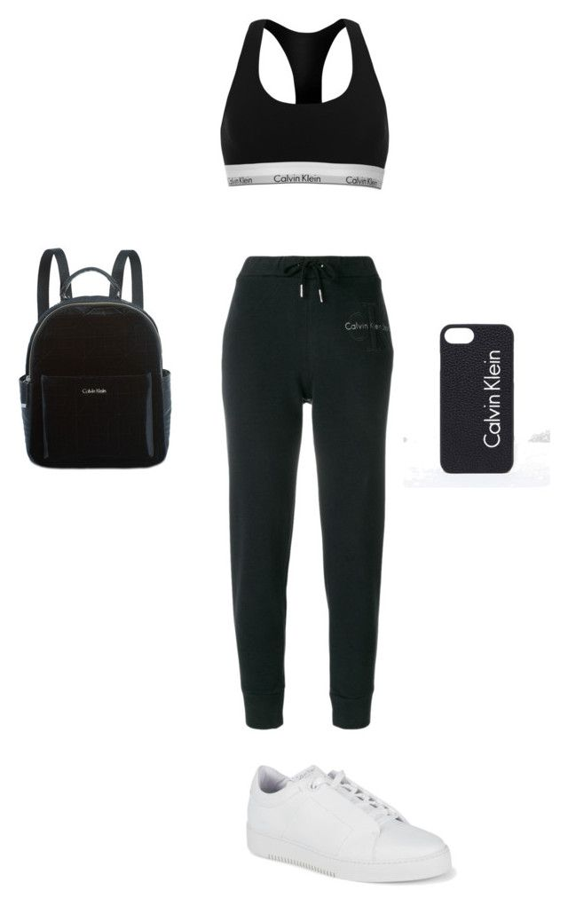 """Calvin Klein outfit"" by marilena-beiko on Polyvore featuring Calvin Klein"