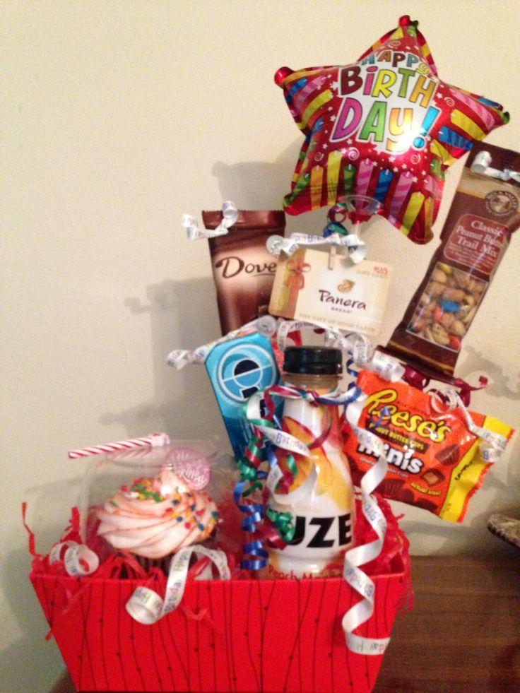 Office Birthday Gift Basket