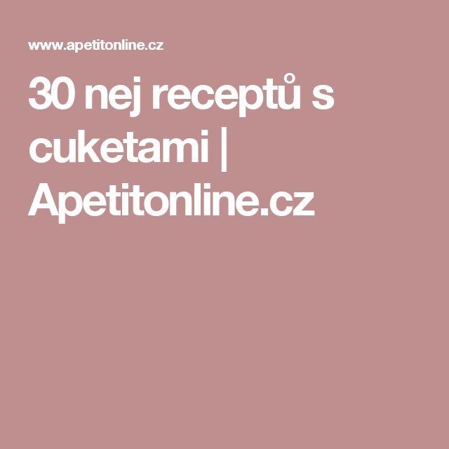 30 nej receptů s cuketami | Apetitonline.cz