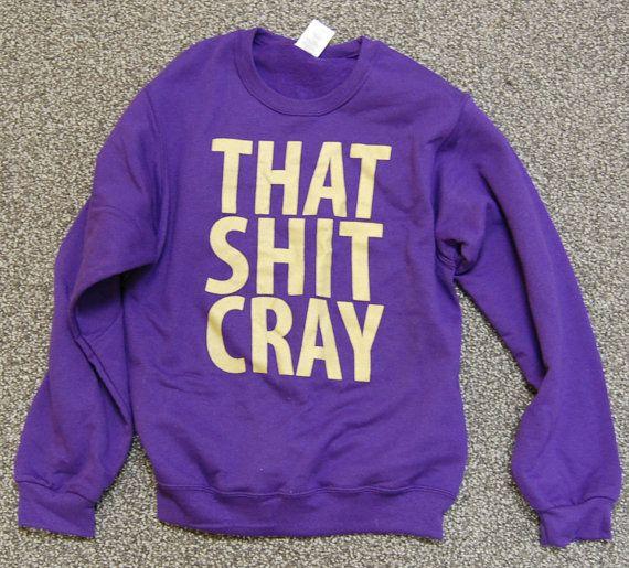 i WANT this sweatshirt!!