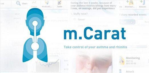 mCARAT – Aplicação móvel portuguesa para asmáticos
