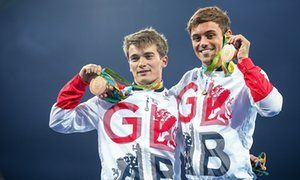 Tom Daley and Daniel Goodfellow took bronze in Daley's second olympics and second bronze medal.