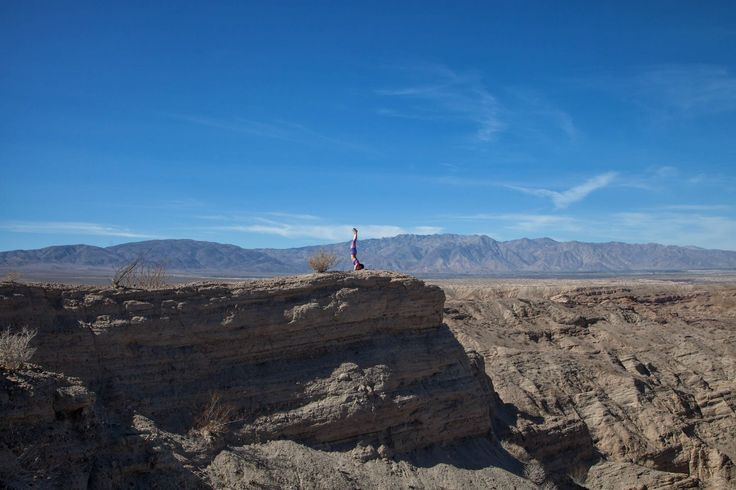 The Slot is an amazing short hike located in the Anza Borrego Desert. Drive east on Hwy 78, and about a mile and a half after Borrego Springs Road, turn left onto Buttes Pass Road.