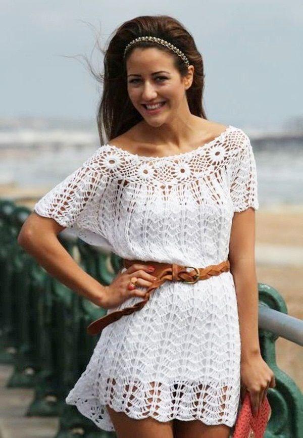 Beautiful Crochet Dresses11