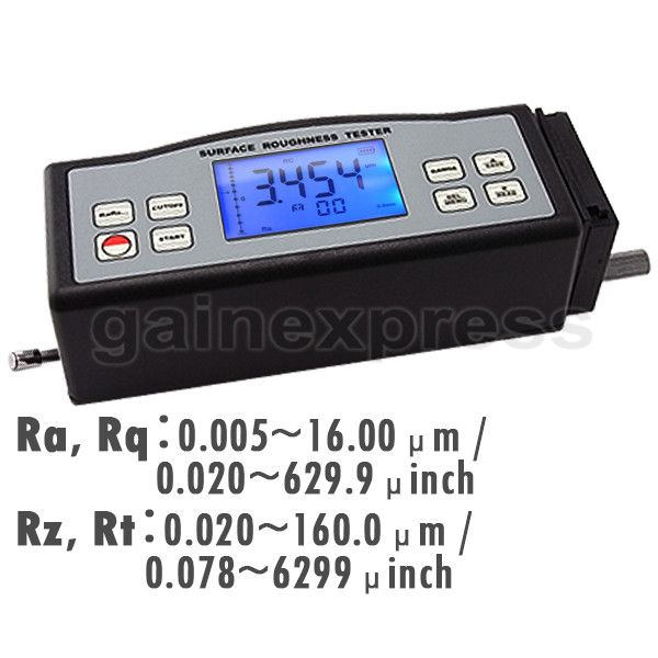 SRT-6210 Digital Surface Roughness Tester 4 Parameters (Ra, Rz, Rq, Rt)