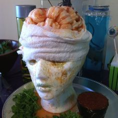 Shrimp Cocktail Brains | Community Post: 31 Ghoulish Treats For Your Halloween…