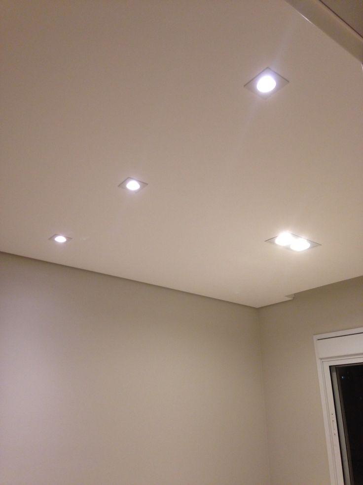 Luminrias instaladas  luminria Interlight e lmpadas