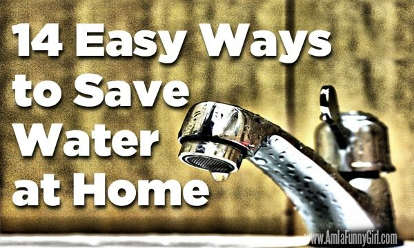 It's important that we all try to save water! Here are some easy tips to help you get started!