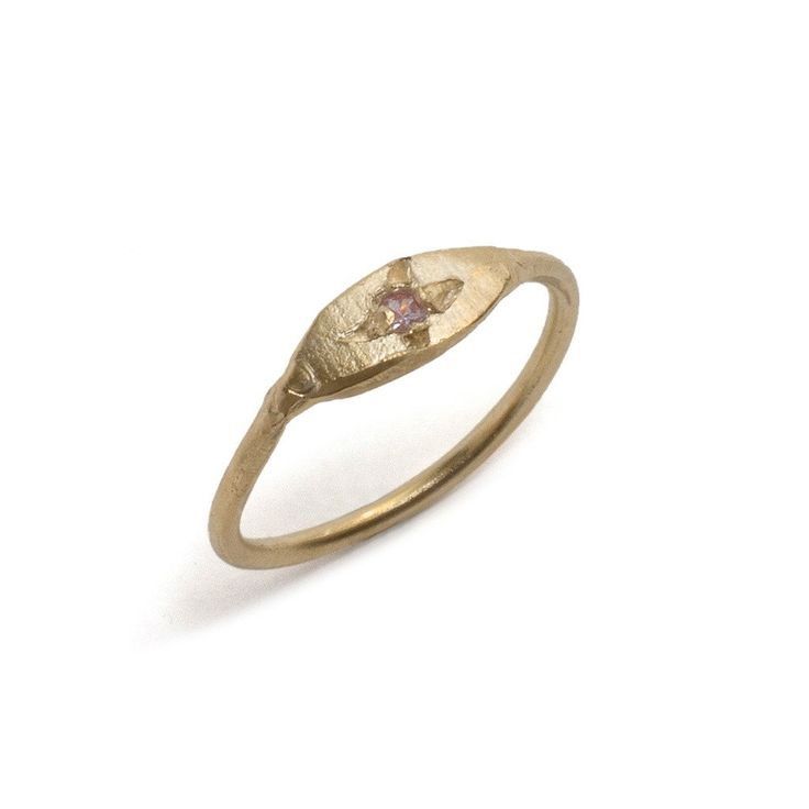 Egyptian Pink Sapphire Ring