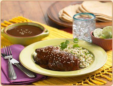 Simple Chicken Mole. DOÑA MARÍA® Original Mole makes it quick and easy.