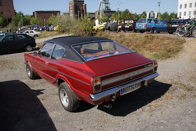 17 best images about hot horsepower on pinterest pontiac - Ford taunus gxl coupe 2000 v6 1971 ...
