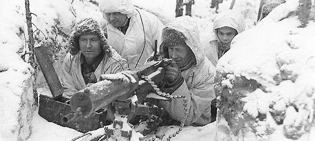 """A nostalgic view of Finland lives through the memory of the war,"" #talvisota #WinterWar #75yearsago"
