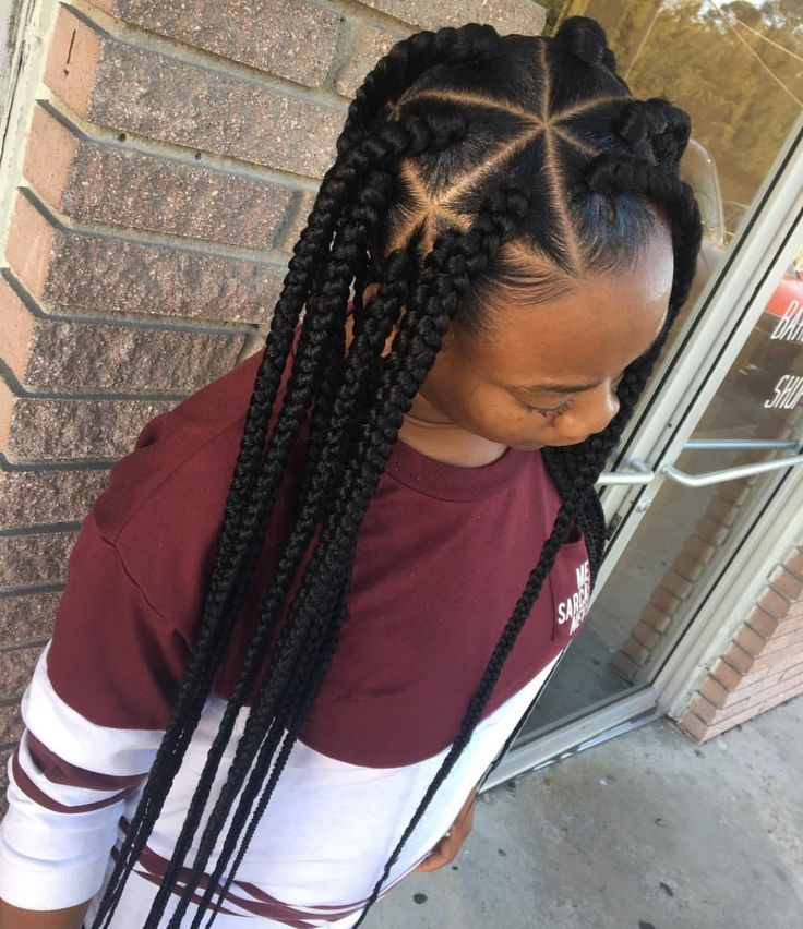 761 best images about Box braids on Pinterest | Big box ...