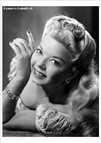 Frances Langford - Hollywood Screen Legend - Wonderful A4 Glossy Print by Vintage Portraits http://www.amazon.co.uk/dp/B016RG0TIS/ref=cm_sw_r_pi_dp_3FEiwb14XTC71