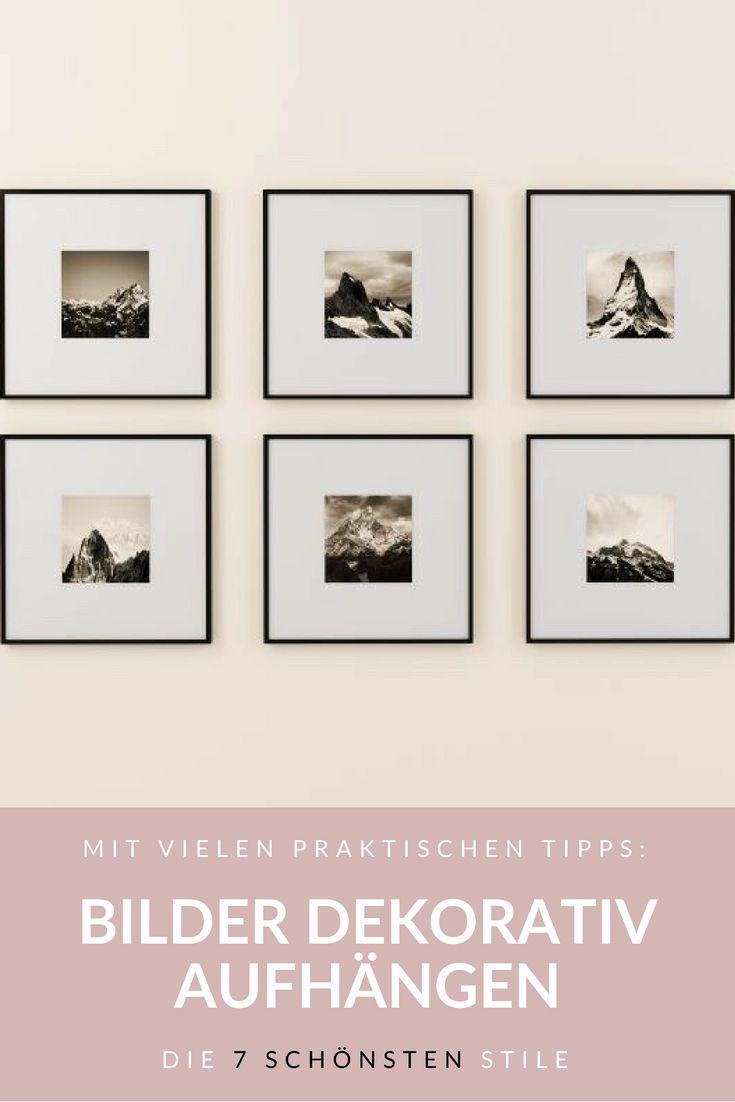 Bilder Aufhängen Die 7 Schönsten Stile Mirohome Ch Wohnmagazin Bilderwand Gestalten Bilder Aufhängen Bilder