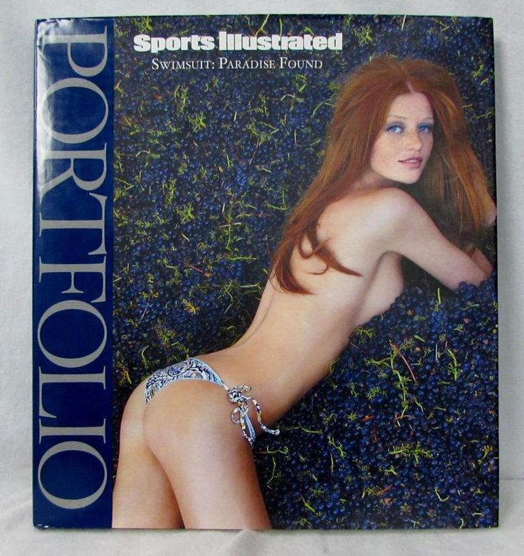 Sports Illustrated - Swimsuit Portfolio Paradise Found Hardcover Book NEW