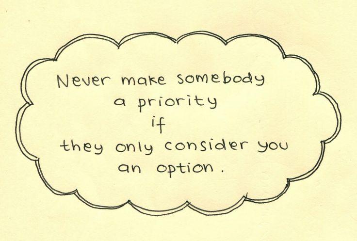 priority/option quote