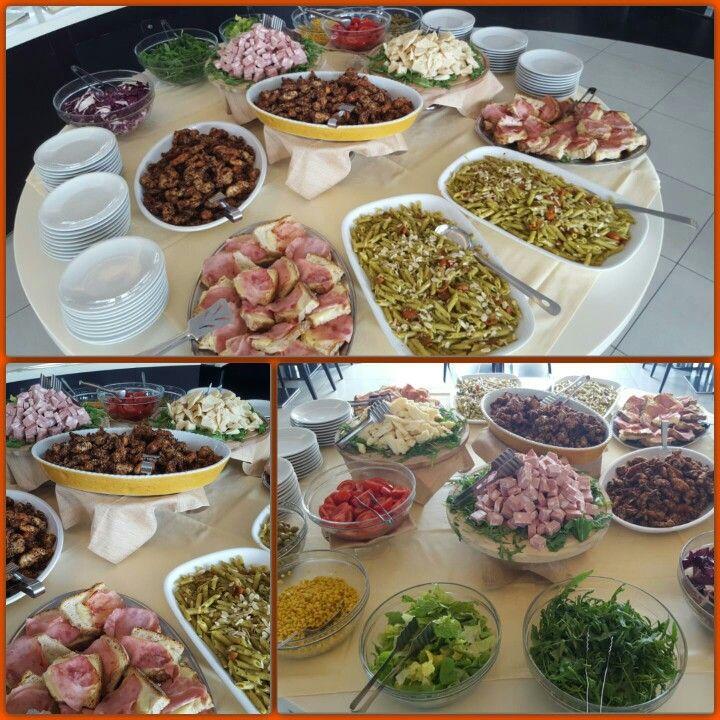 Light lunch buffet