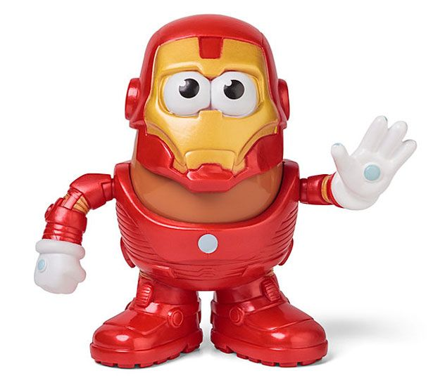 Señor Cara de Papa Iron Man