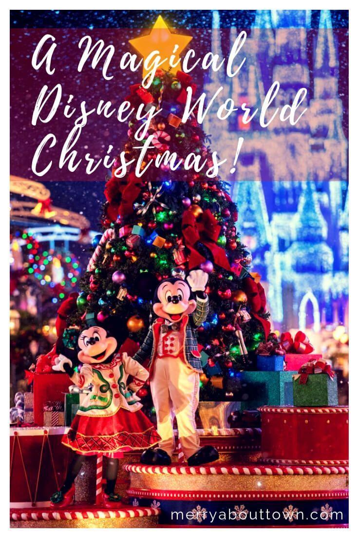 A Disney Christmas Disney World Christmas Disneyland Christmas Disney Christmas
