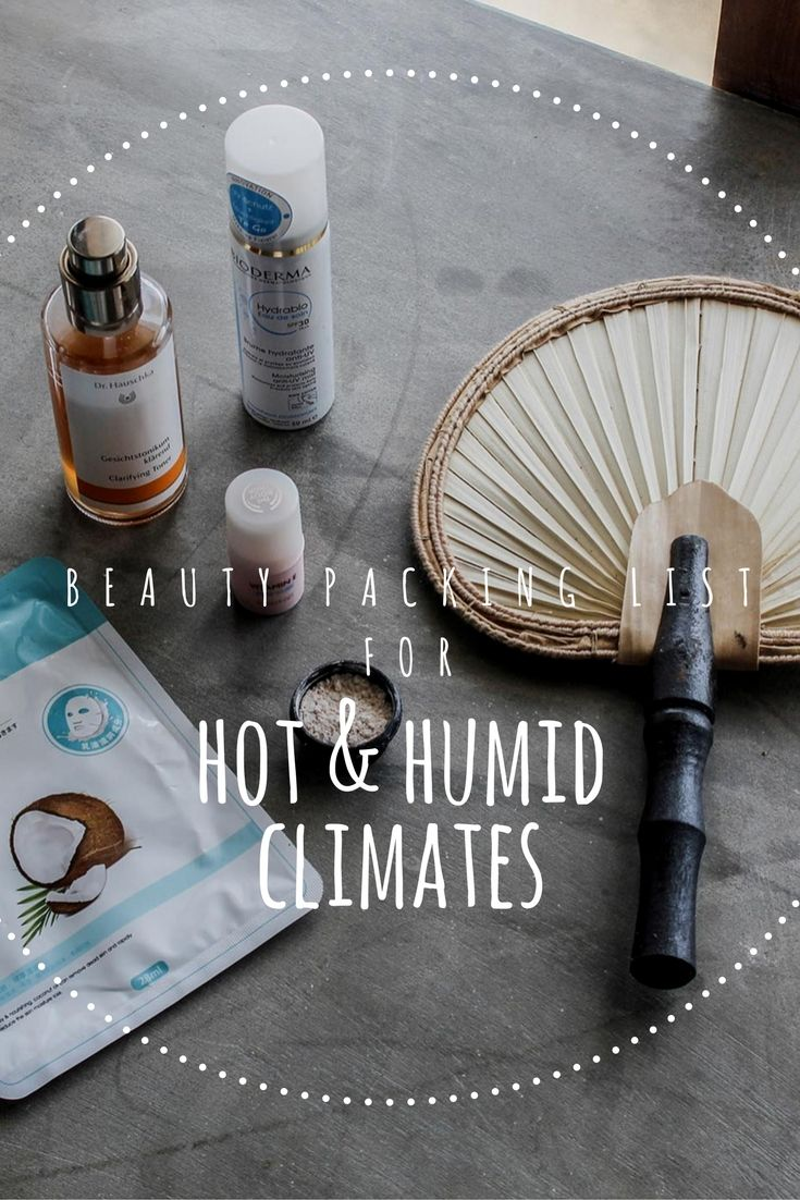 Heading somewhere hot & humid? Here are some favorite tried and tested beauty products you should take. No frizzy hair or break-outs and of course all sized for ultimate travel convenience. Click on through to see the full list!