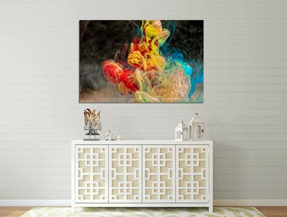 Silence- Abstract Metal Print,Abstract Print,Large Canvas Print,Abstract Wall Art,Original Abstract Art,Oversized Wall Art,Colorful Abstract