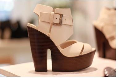 wedges high-on-heels