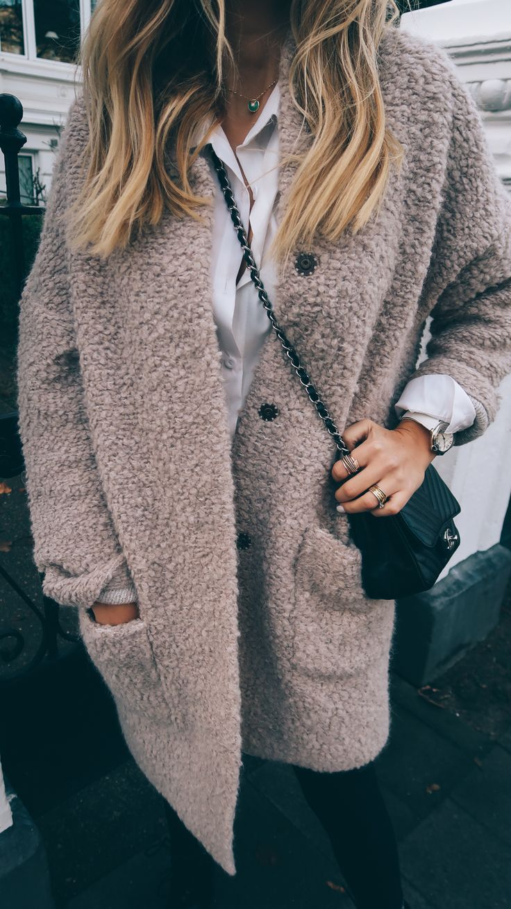 chic chilly weather look