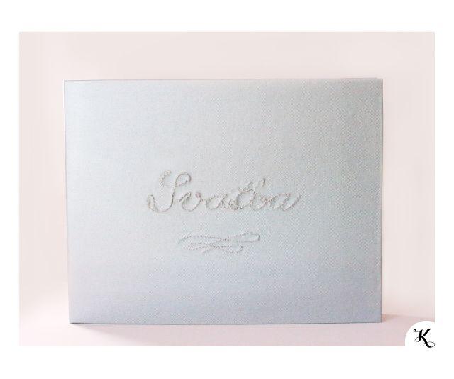 Wedding photoalbum - handmade bookbinding | Svatební fotoalbum - ruční knižní vazba