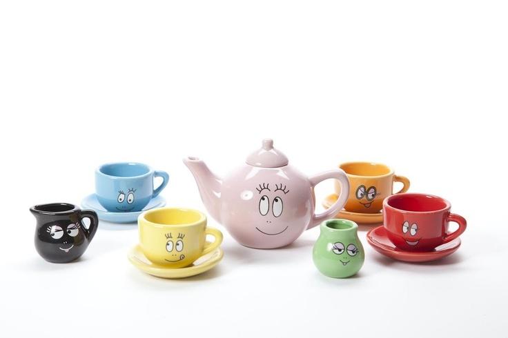 Barbapapa Tea Set – pomme