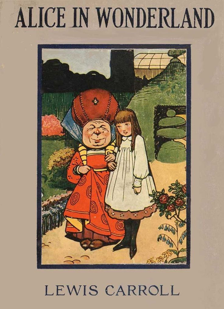 The Evolution of Alice in Wonderland: A Book Cover Odyssey ...