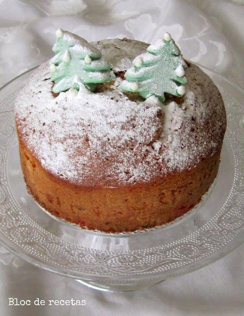 Bloc de recetas: Cake de Navidad con frutas y frutos secos