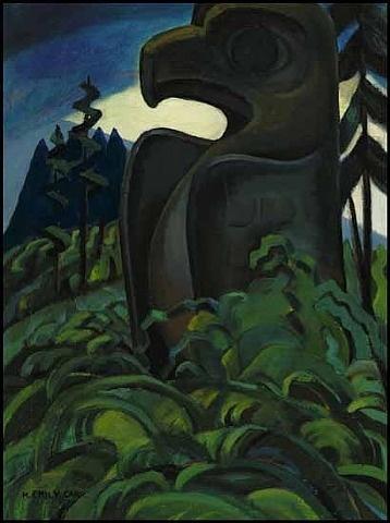 Emily M. Carr, Eagle Totem