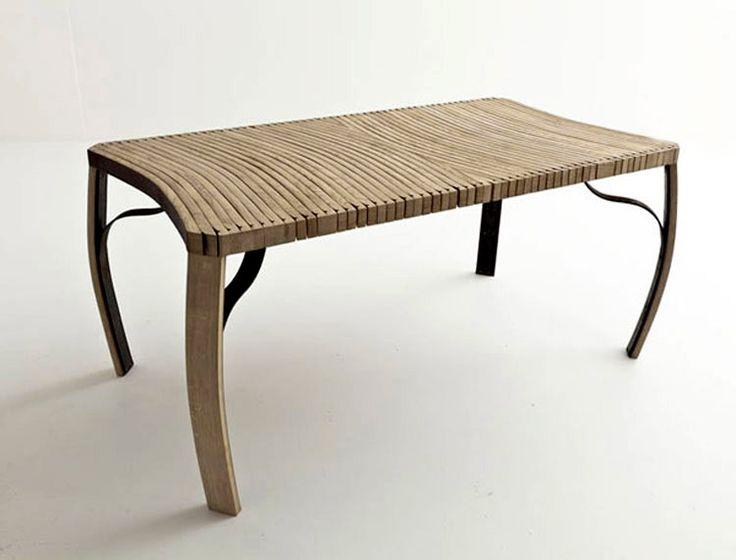 Michele De Lucchi's feeling for design: Doga table, San Patrignano, 2012